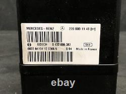 00-06 Mercedes W220 S500 CL600 Vacuum Pump Central Locking Door 2208000548 OEM