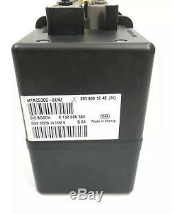 00-06 Mercedes W220 W215 S CL CLass Vacuum Pump Central Locking Door 2208001248