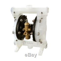 1/2'' Inlet Air-Operated Double Diaphragm Pump 5.3GPM 100PSI US STOCK free ship
