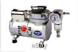 1/8HP Oil Less Piston Vacuum Pump Air Compressor, 95W, 110V or 220V