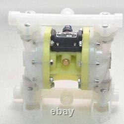 1 Inlet&Outlet Air-Operated Double Diaphragm Pump Petroleum Fluids Waste Oil US