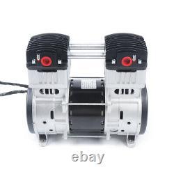 1100W Oilless Diaphragm Vacuum Pump Oil Free Air Compressor Head t Air Pump