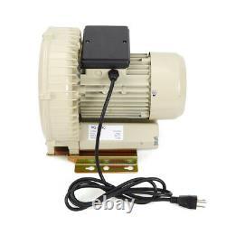 110V 370W Aquaculture Aquarium Fish Pond Tanks Air Pump Blower 60m³/h 12KPa USA
