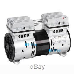110V 550W Oilfree Micro Air Diaphragm Pump Electric Motor Vacuum Pump
