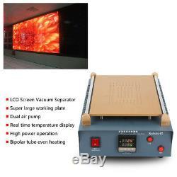 14inch Dual Vacuum Air Pump LCD Screen Separator Screen Repair for Phone Tablet