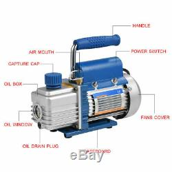 150W 220V Mini Portable Vacuum Pump for Air Conditioning Refrigerator FY-1H-N SD