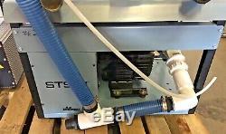2012 Air Techniques Dual STS-3 Dental Dry-Vac Pumps 54600 Vacuum Pumps With Tank