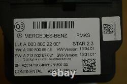 2018 W222 Mercedes S560 S63 Pneumatic Vacuum Air Pump Oem 0008002200