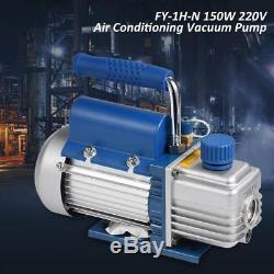 220V 150W 2Pa 3.6m³/h Vacuum Pump Set For Air Conditioning/Refrigerator G1/4 h5