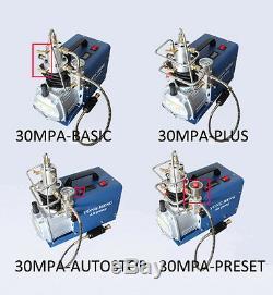 220V 30MPa Air Compressor Pump High Pressure Electric Pump Airgun Scuba Diving