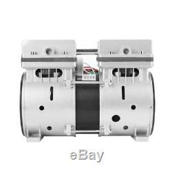 220V 370W Oil-free Vacuum Pump 740mmHg/-98.6kpa 80L/min High Vacuum Air Pump