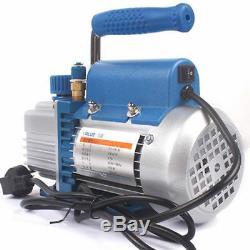 220V 5.4m³/h 2Pa Rotary Vane Air Vacuum Pump Tool for Film Laminating Machine