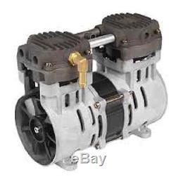 3.5 cfm 24-25Hg Vacuum Veneer Aeration Compressor Air pump Airbrush FREE S&H