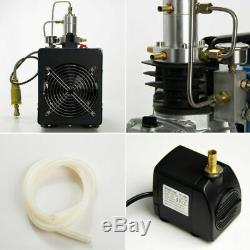 30MPa Air Compressor Pump 110V PCP Electric 4500PSI High Pressure Auto Shut US
