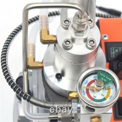 30MPa High Pressure PCP Electric Air Compressor Pump Scuba Diving 4500PSI 220V