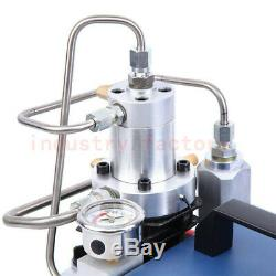 30Mpa High Pressure Air Pump Electric PCP Compressor 220V 300bar 4500PSI Diving