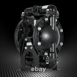 35GPM Air-Operated Double Diaphragm Pump 1 Inlet Petroleum Fluid 1/2 Air Inlet