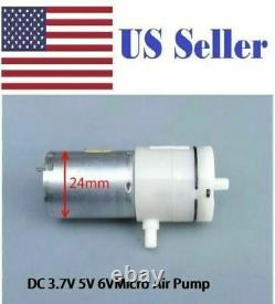 370 High-power 6V DC Mini Micro Air Pump Aquarium Air Vacuum