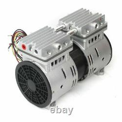 370W Oilless Vacuum Pump 680mmHg/-90.6kpa 100L/min Vacuum Oil Free Air Pump