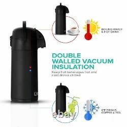 3L/5L Tea Coffee Air Pot Flask Pump Action Vacuum Insulated Carry Handle DIY