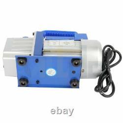 4 CFM Deep Vacuum Pump Single Stage HVAC 1/3HP AC Air Conditioning R134 R410a