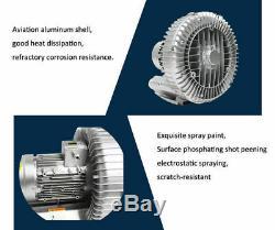4000W High Pressure Fan Vortex Vacuum Pump Air Pump Industrial Vacuum Cleaner