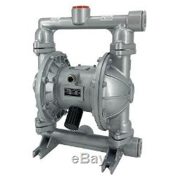 44GPM Air-Operated Double Diaphragm Pump 1-1/2 Inlet & Outlet Industrial Fluid