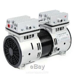 550W Oilless Air Diaphragm Vacuum Pump 2.4CFM Industrial Oil Free Vacuum Pumps