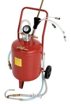 6 Gallon Pneumatic Oil Fluid Extractor Transfer Vacuum Pump 26 Litre Air