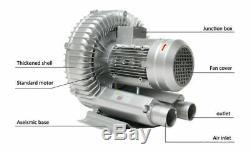 750W High Pressure Vortex Air Pump Blower For Aquaculture Industry Single 220V