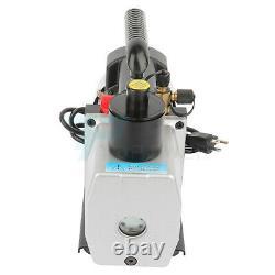 7CFM 1/2HP Vacuum Pump Rotary Vane Deep HVAC AC Air Tool Degassing Single Stage
