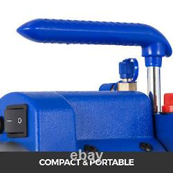 9CFM 2 Stages Vacuum Pump 1HP Air Conditioning 110V/50-60HZ Refrigeration