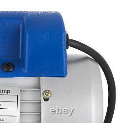 A/C Manifold Gauge Set R134A R410a R22 With 3,5 CFM 1/4HP Air Vacuum Pump With Oil