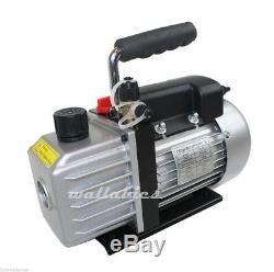 AC A/C R134A & R12/R22 ELECTRIC Air Vacuum Pump NEW