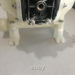 ARO PD03P-APS-PAA Double Diaphragm Pump, Polypropylene Air Operated 1/4 100 psi
