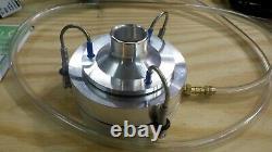 Aerotech Z-a6 Microbial Air Sampler Vacuum Pump With Reg & Flow Meter & Case