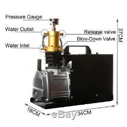 Air Compressor Pump 30MPa Electric High Pressure System Rifle 220V 4500PSI DE