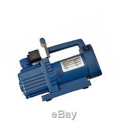Air Conditioner Fridge Vacuum Pump V-i215s-m 2 Stage 1.5cfm 1/5hp 4kg Value