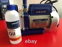Air Conditioner Fridge Vacuum Pump Wk-115n 1 Stage 1.8cfm 1/5hp 4.2kg