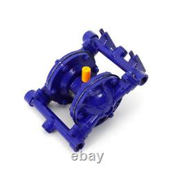 Air-Operated Double Diaphragm Pump Cast Iron 115PSI 12GPM 1/2 inlet & outlet US
