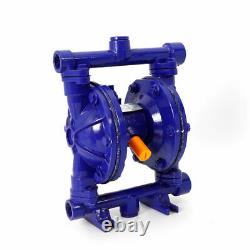 Air-Operated Double Diaphragm Pump Inlet & Outlet Petroleum Fluids 12GPM 1/2
