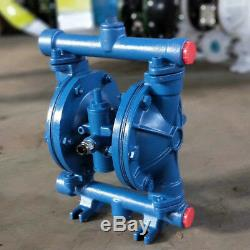 Air-Operated Double Diaphragm Pump QBK-15 Cast Iron 115PSI 1/2 inlet & outlet