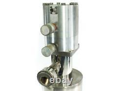 Air Products Displex Cold Head Perkin-Elmer Ultek Cryogenic Vacuum Pump DE 202S
