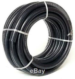 Air Seeder Hose 45mm 1 3/4 x 20m PVC Suction Discharge Spiral Vacuum Water seed
