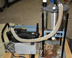 Air Techniques STS-3 Dry Dental Vacuum Pump System Suction Unit FOR PARTS