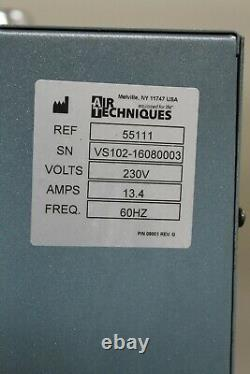 Air Techniques Vac Star Wet Vacuum Dental Pump 2 HP 230V FREE SHIPPING