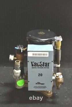 Air Techniques VacStar 20 Dental Vacuum Pump with 1 Year Warranty REFURBISHED