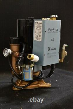 Air Techniques VacStar 40 Dental Vacuum Pump REFURBISHED with 1 YEAR WARRANTY