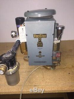 Air Techniques Vacstar 2 One Horsepower 230V Wet Vacuum Pump