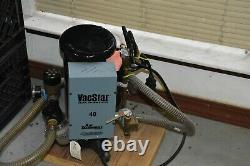Air Techniques Vacstar 2 One Horsepower 230V Wet Vacuum Pump Great condition